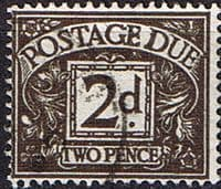 Great Britain 1959 Post Due SG D 59 Fine Used