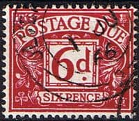 Great Britain 1959 Post Due SG D 63 Fine Used