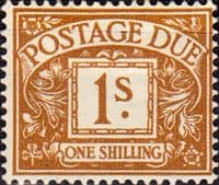 Great Britain 1959 Post Due SG D 64 Fine Mint