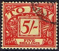 Great Britain 1959 Post Due SG D 66 Fine Used
