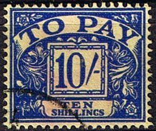 Great Britain 1959 Post Due SG D 67 Fine Used