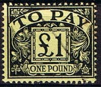 Great Britain 1959 Post Due SG D 68 Fine Used