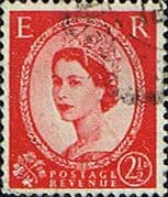 Great Britain 1960 Queen Elizabeth II Definitive Phosphor Issue SG 614 a Fine Used