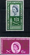 Great Britain 1961 Commonwealth Parliamentary Conference Set Fine Used