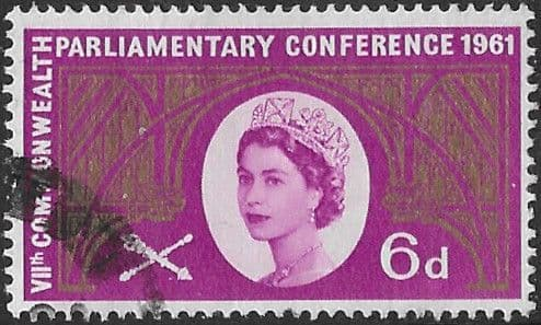 Great Britain 1961 Commonwealth Parliamentary Conference SG 629 Fine Used