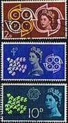 Great Britain 1961 Europa Set Fine Used
