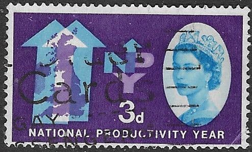 Great Britain 1962 National Productivity Year SG 632 Fine Used