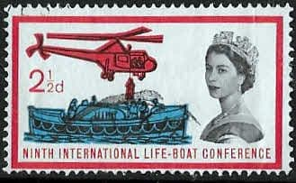 Great Britain 1963 9th International Lifeboat Conference Phosphoros SG 639p Fine Used