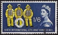 Great Britain 1963 9th International Lifeboat Conference Phosphoros SG 641p Fine Used