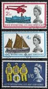 Great Britain 1963 9th International Lifeboat Conference Set Fine Used