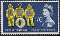 Great Britain 1963 9th International Lifeboat Conference  SG 641 Fine Mint