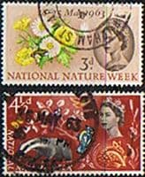 Great Britain 1963 National Nature Week Set Fine Used