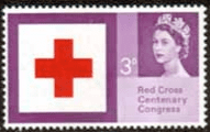 Great Britain 1963 Red Cross Centenary Phosphor Bands SG 642  Fine Mint