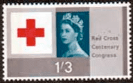 Great Britain 1963 Red Cross Centenary SG 643 Fine Mint