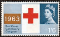 Great Britain 1963 Red Cross Centenary SG 644 Fine Mint