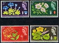 Great Britain 1964 10th International Botanical Congress Phosphor Band Set Fine Mint