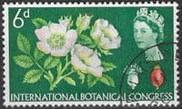 Great Britain 1964 10th International Botanical Congress Phosphor Band SG 656 Fine Used