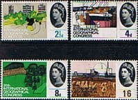 Great Britain 1964 20th International Geographical Congress Phosphor Set Fine Mint