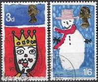 Great Britain 1966 Christmas Set Fine Used