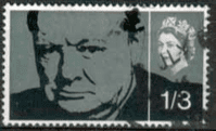 Great Britain 1966 Churchill Phospher SG 662 p  Fine Used