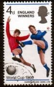 Great Britain 1966 Football World Cup England Winners SG 700 Fine Used