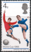 Great Britain 1966 Football World Cup Phosphor Band SG 693p Fine Mint