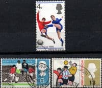 Great Britain 1966 Football World Cup Set Fine Used