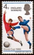 Great Britain 1966 Football World England Winners SG 700 Fine Mint