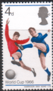 Great Britain 1966 World Cup SG 693 Fine Mint