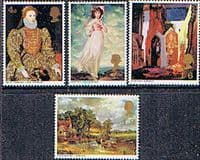 Great Britain 1968 British Paintings Set Fine Mint