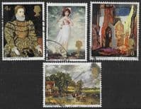 Great Britain 1968 British Paintings Set Fine Used