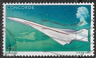 Postage Stamps Stamp Great Britain 1969 Flight of Concorde Set Fine Mint