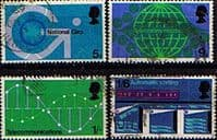 Great Britain 1969 Post Office Technology Set Fine Used