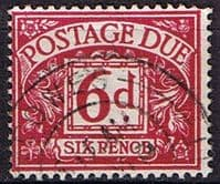 Great Britain 1969 Postage Due SG D 73 Fine Used