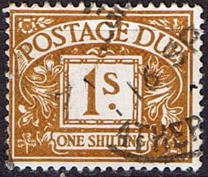 Stamps of Great Britain Postage Due