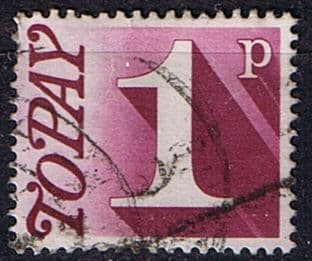 Great Britain 1970 Post Due SG D 78 Fine Used