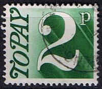 Great Britain 1970 Post Due SG D 79 Fine Used