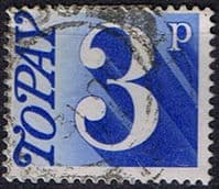 Great Britain 1970 Post Due SG D 80 Fine Used