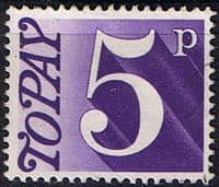 Great Britain 1970 Post Due SG D 82 Fine Used