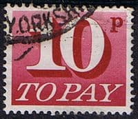 Great Britain 1970 Post Due SG D 84 Fine Used