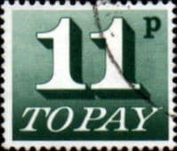 Great Britain 1970 Post Due SG D 85 Fine Used