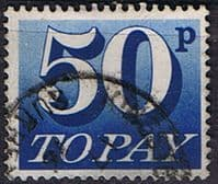 Great Britain 1970 Post Due SG D 87 Fine Used