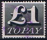 Great Britain 1970 Post Due SG D 88 Fine Used