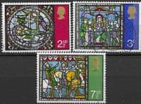 Great Britain 1971 Christmas Set Fine Used