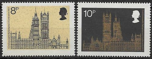 Great Britain 1973 19th Commonwealth Parliamentary Conference Set  Fine Mint