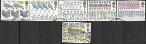 Great Britain 1977 Christmas Set Fine Used