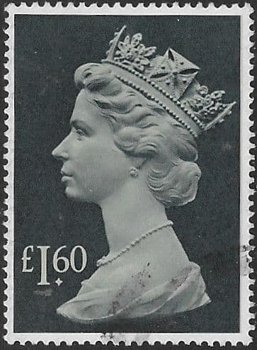 Great Britain 1977 High Values SG1026f Fine Used