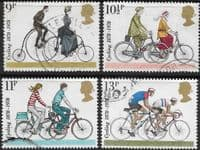 Great Britain 1978 British Cycling Federation Set Fine Used