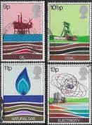 Great Britain 1978 Energy Resources Set Fine Used