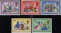 Great Britain 1979 Christmas Set Fine Mint